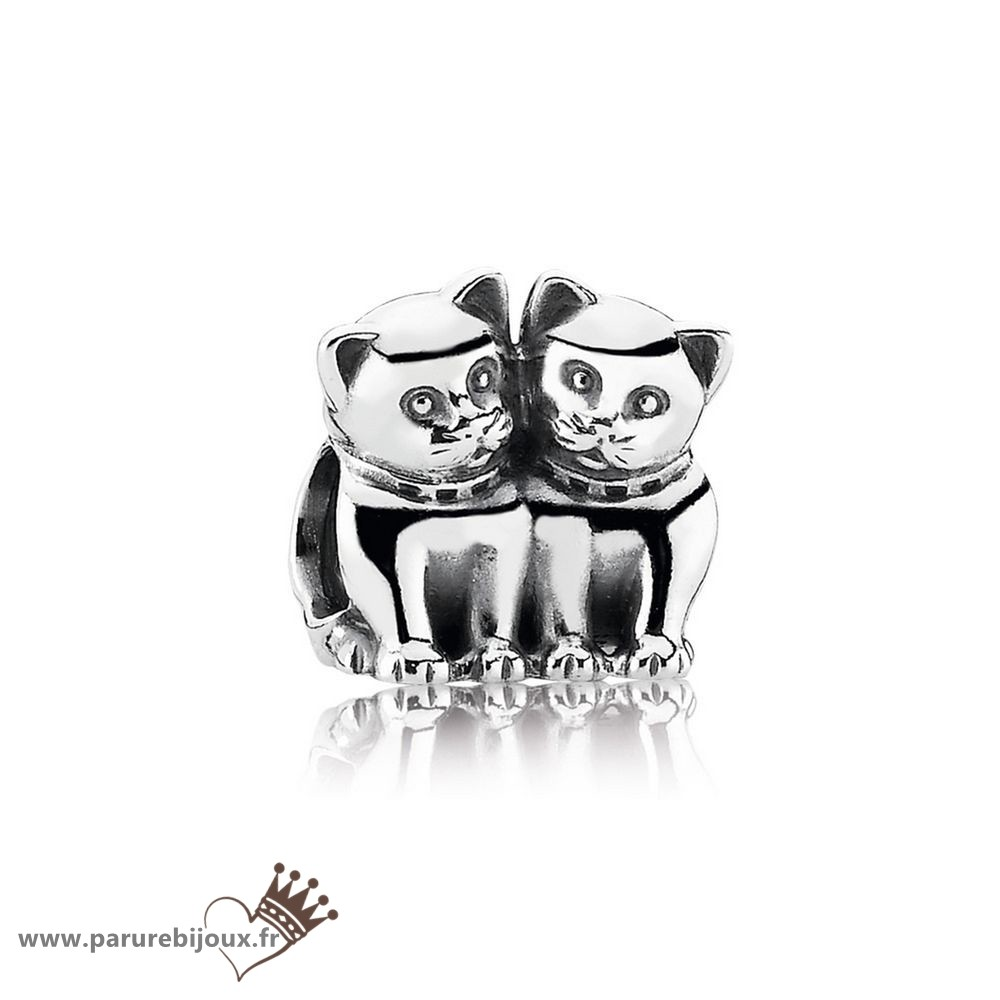 Qualité Pandora Pandora Animaux Charms Purrfect Together Kittens Charm
