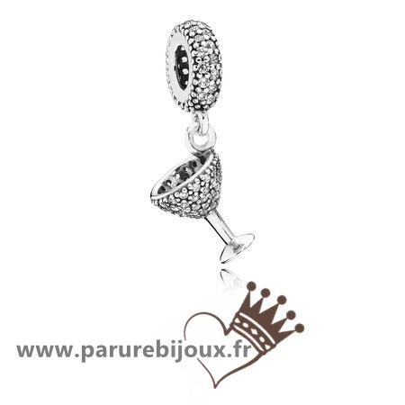 Qualité Pandora Pandora Passions Charms Chic Charme Nuit Dangle Charm Clear Cz