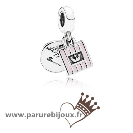Qualité Pandora Pandora Passions Charms Chic Glamour Achats Queen Dangle Charm Soft Rose Email
