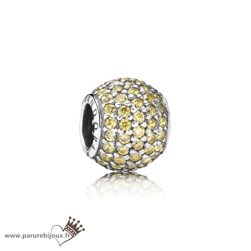 Qualité Pandora Pandora Toucher De Couleur Charms Pave Lumieres Charme Fancy Oren Colour Cz