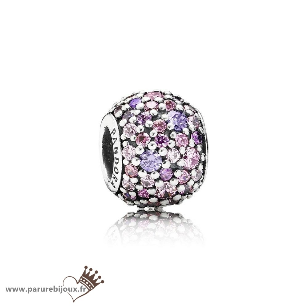 Qualité Pandora Pandora Toucher De Couleur Charms Pave Lumieres Charme Multi Colour Cz