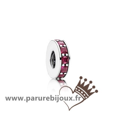 Qualité Pandora Pandora Espaceurs Charms Eternity Spacer Synthetic Ruby